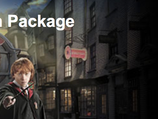 Exclusive Harry Potter Vacation Package