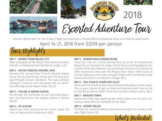 Belize Escorted Adventure Group Tour - April 2018