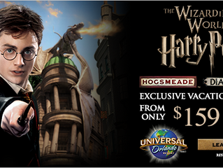 Wizarding World of Harry Potter Exclusive Vacation Package Offer
