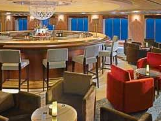Crystal Cruise Bars and Lounges