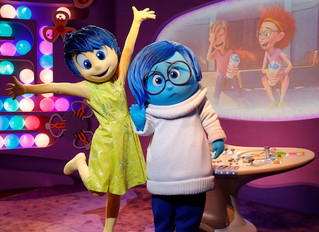 """Epcot Character Spot welcomes new characters, Joy and Sadness from """"Inside  Out"""""""