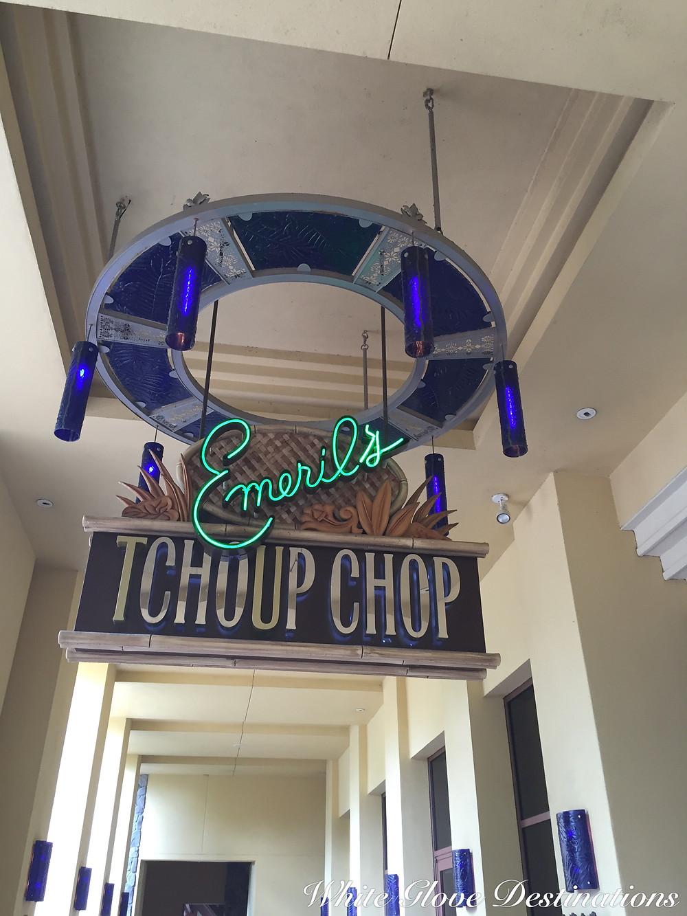 Emeralds TCHOUP CHOP