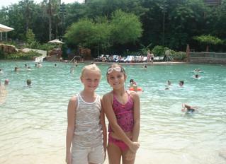Zero Entry Swimming Pools at Walt Disney World