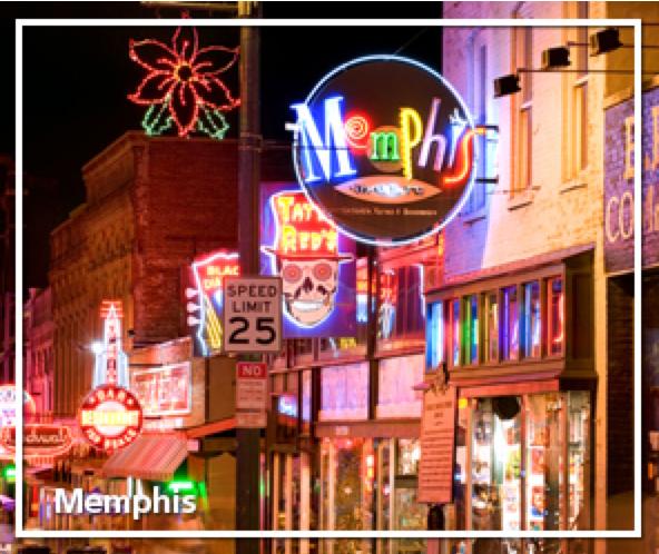 Memphis Experience Long Weekend Getaway