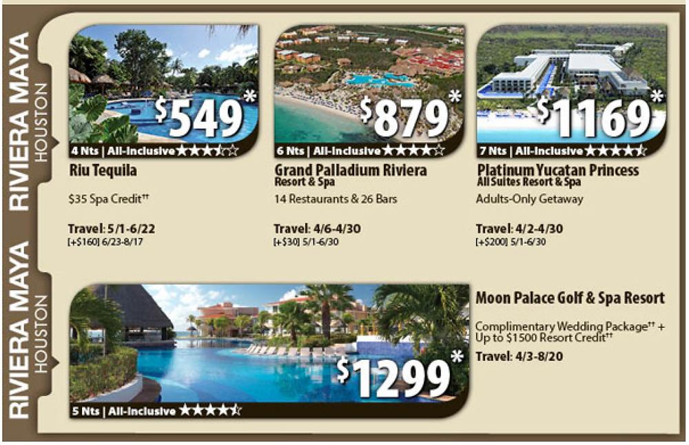 Riviera Maya All-Inclusive Vacation