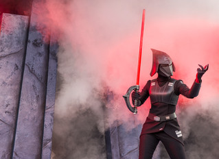 Kylo Ren is taking over Hollywood Studios's Star Wars Launch Bay!