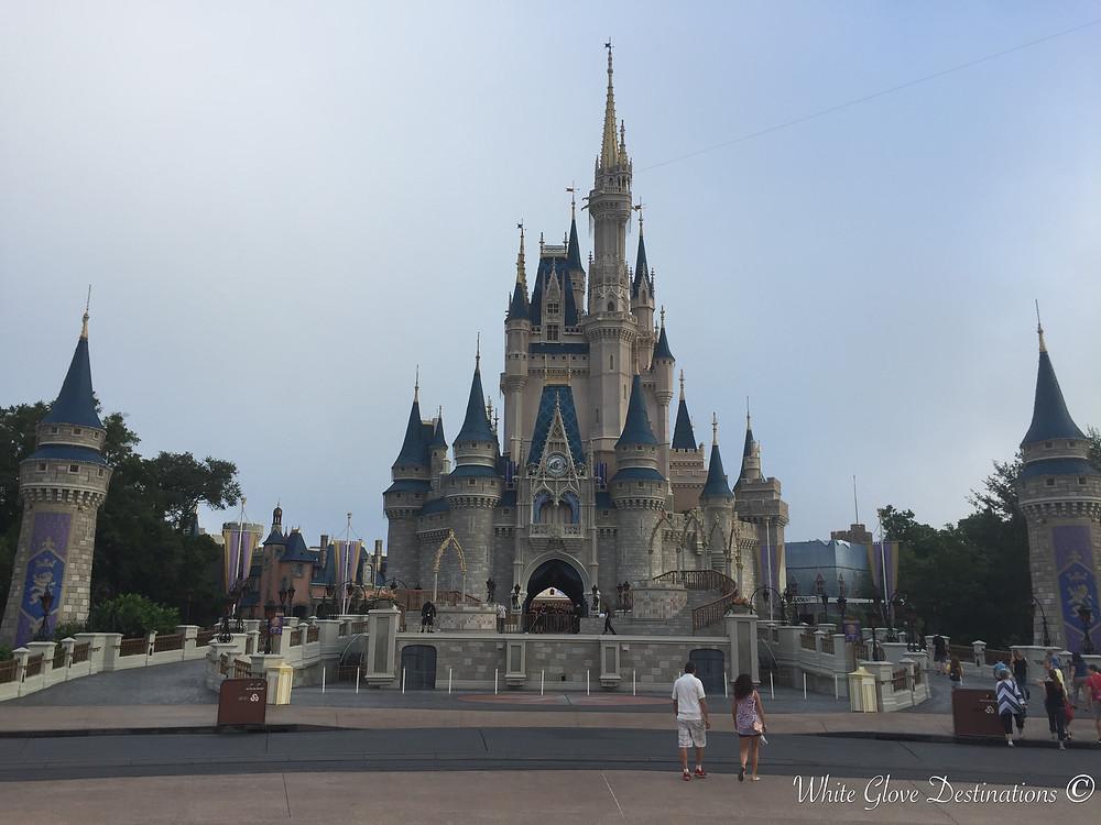 Magic Kingdom Cinderella's Castle at Walt Disney World