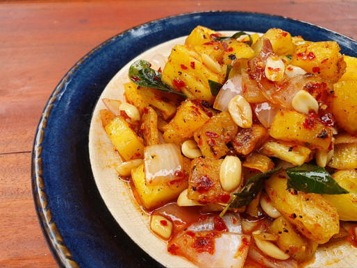 Pineapple & Peanut delight