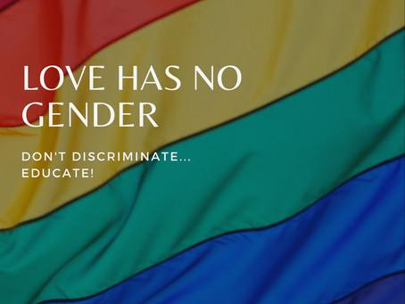 Love has no gender 🌈