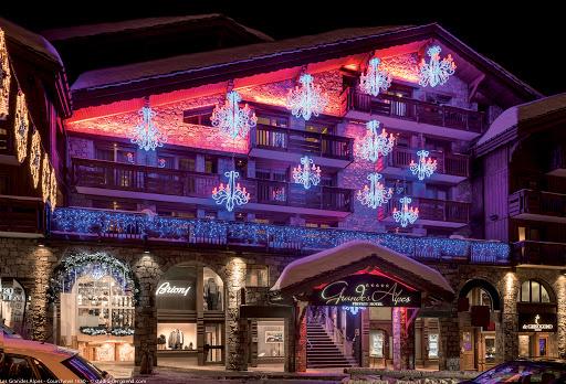 Voiture avec chauffeur Grandes Alpes Hôtel Courchevel