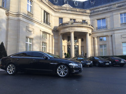 Car hire with driver at residence