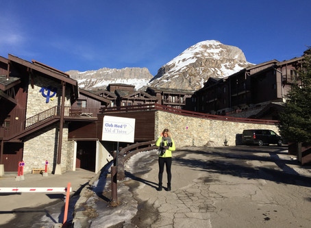 your car hire with driver at Val d'Isere