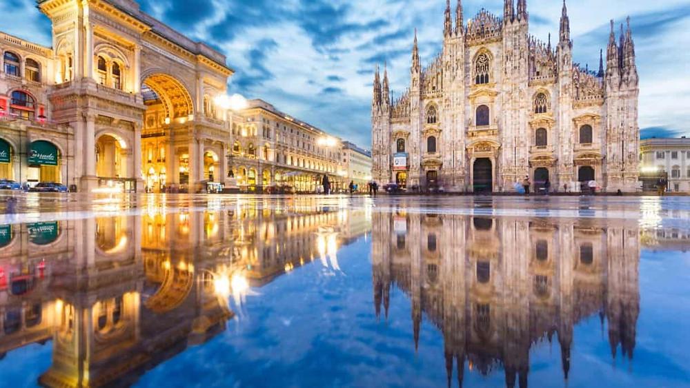 Votre Service de Location de voiture avec chauffeur fera un arrêt de 2 jours pour vous faire visiter Milan