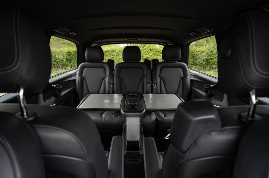 inside your Mercedes Classe V