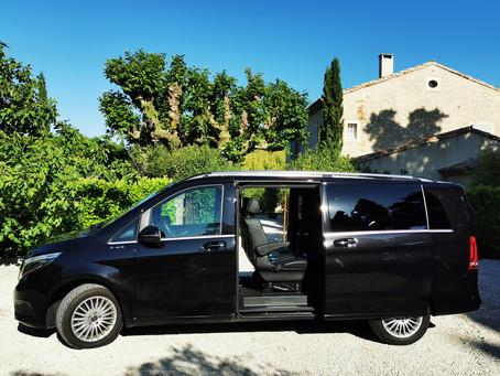 Reprise de votre service de location de Voiture avec Chauffeur à Avignon
