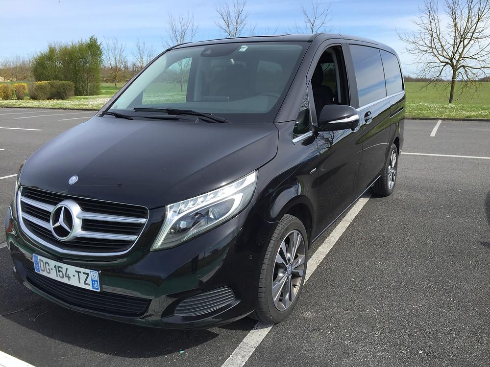 Marseille Transfert VIP Mercedes Classe V