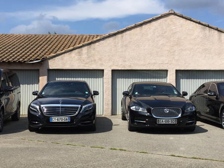 Votre voiture avec chauffeur à Avignon Nîmes, Marseille, Montpellier et Cannes