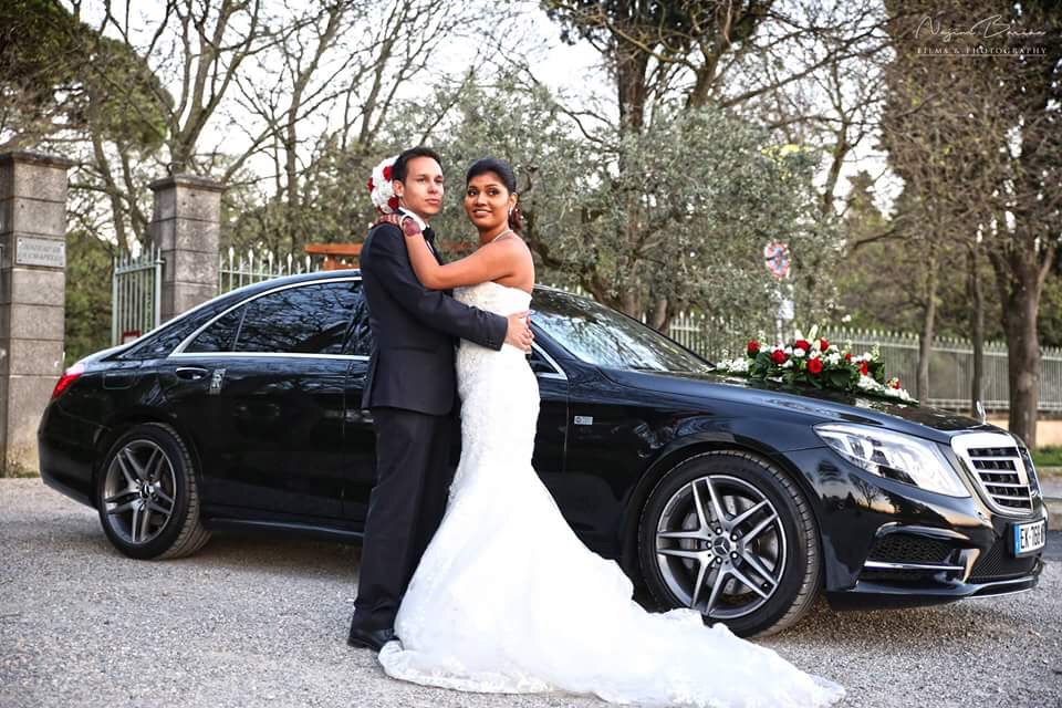 Car with Wedding Driver