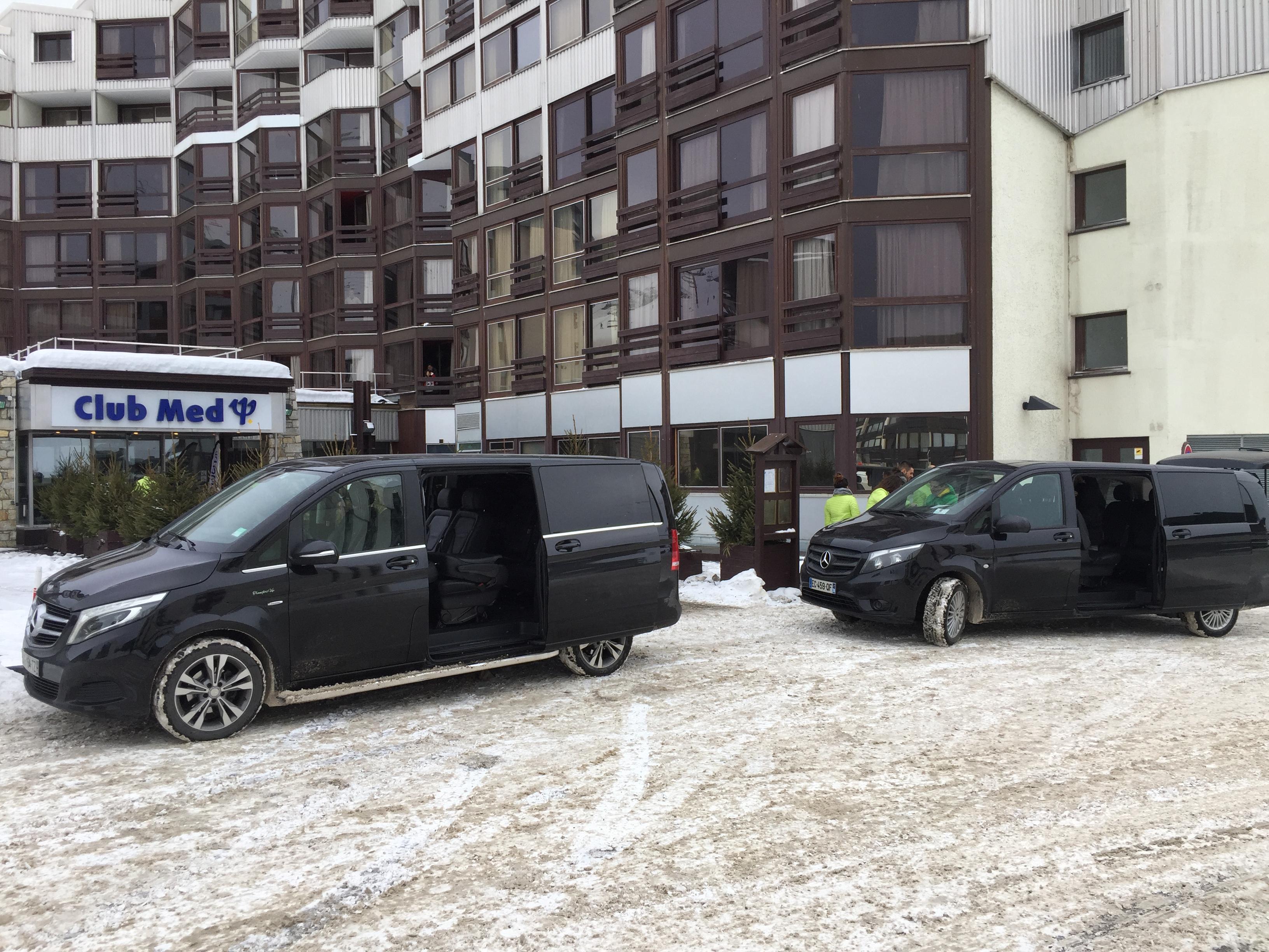 Transfert stations de Ski des Alpes