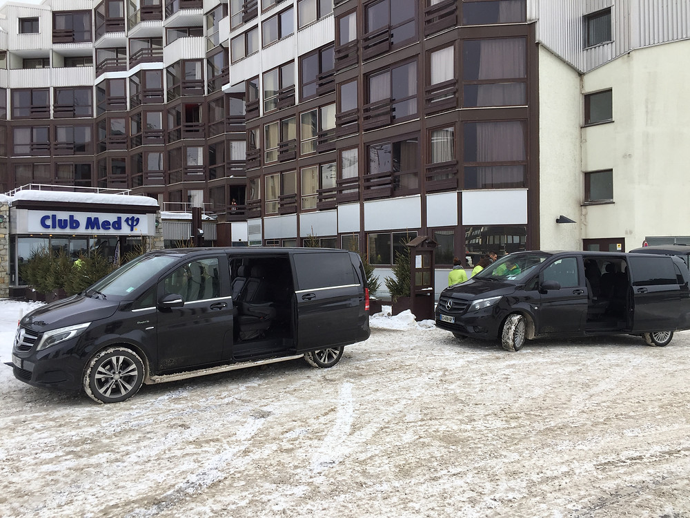 Voiture avec chauffeur à Nîmes pour toutes les stations de ski