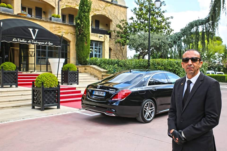 Master chauffeur at your disposal 24h day