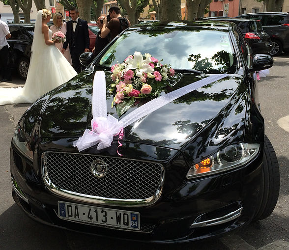 Cars hire with driver for Wedding in Avignon, Shuttle for wedding