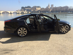 Avignon Car hire with driver at the airport or TGV station