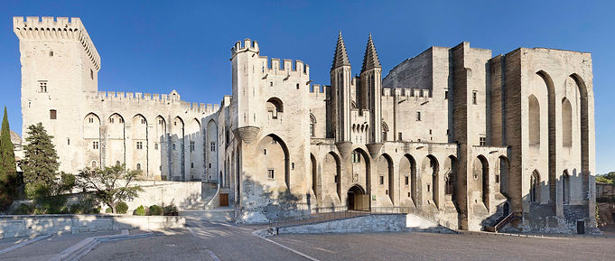 Avignon Palais des Papes Visite Excursion Tours Avignon Palais des Papes