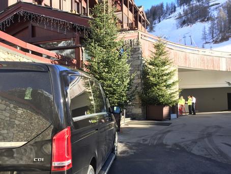 Service Voiture avec chauffeur Val d'Isère