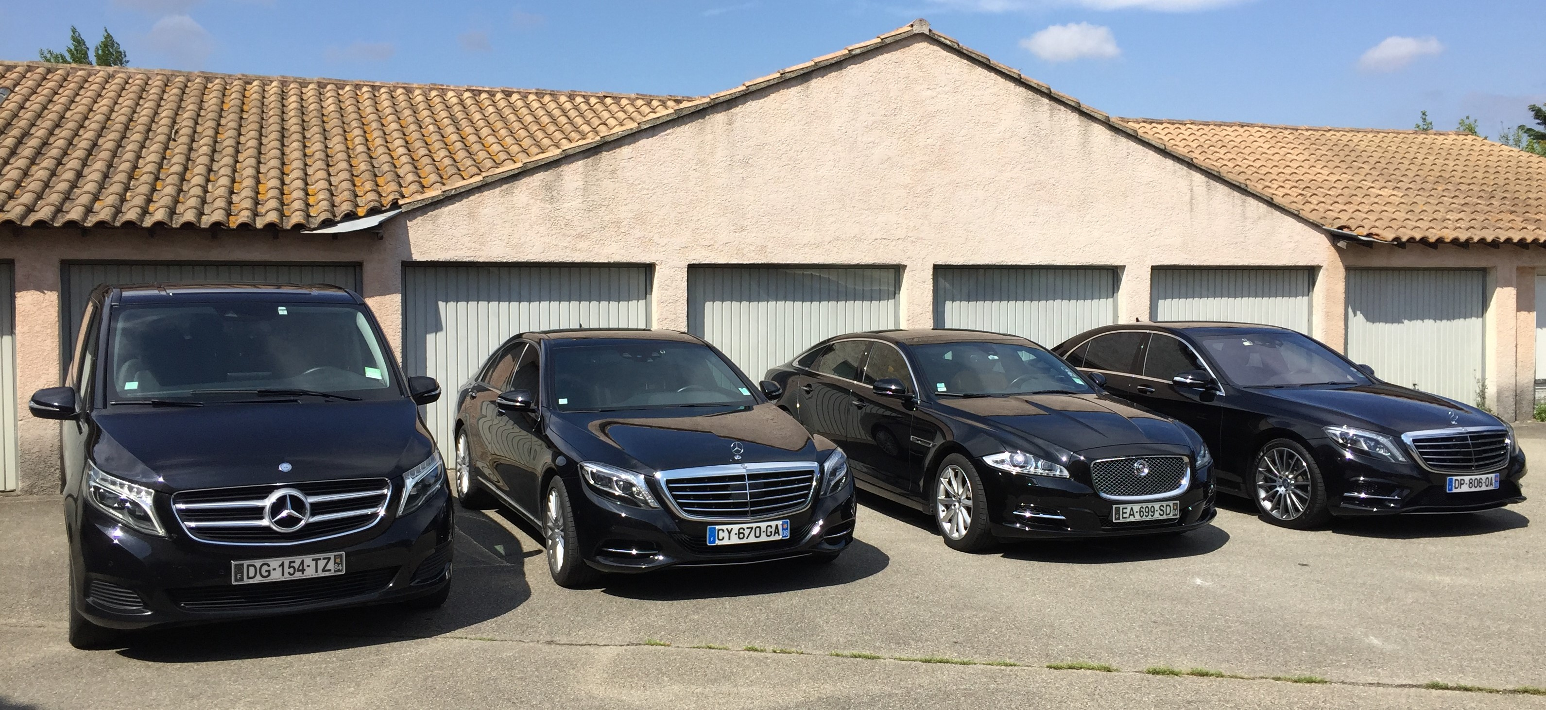 Our cars fleet with driver