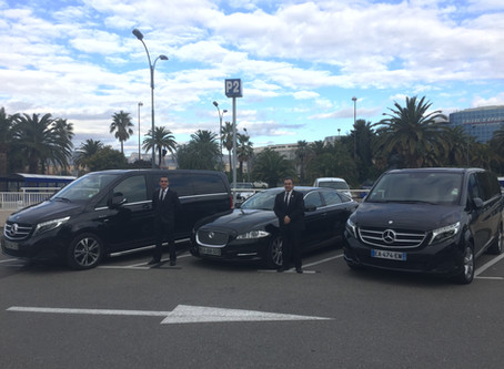 Cannes Transfert Vip voiture avec chauffeur présent à l'international Luxury Travel Market de Ca