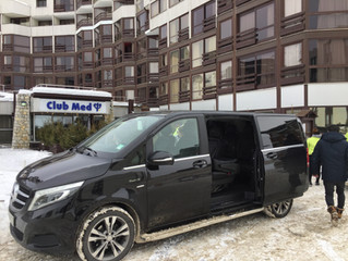 Car hire with chauffeur at Tignes