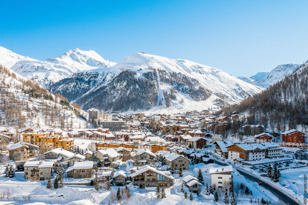 Voiture avec chauffeur Val d'Isère
