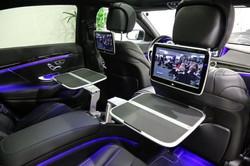 Mercedes S limousine avec chauffeur