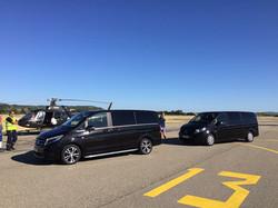 Voiture avec chauffeur en aéroport