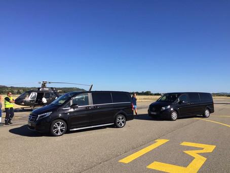 Votre Service voiture avec chauffeur à l'aéroport de Nîmes