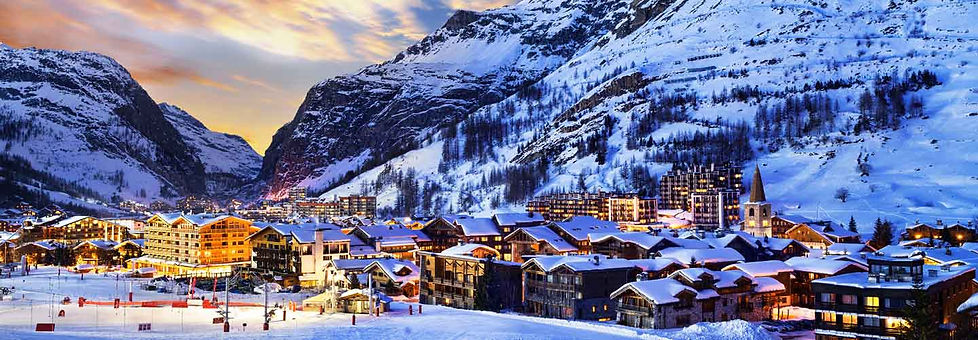 Car hire with driver Val d'Isere