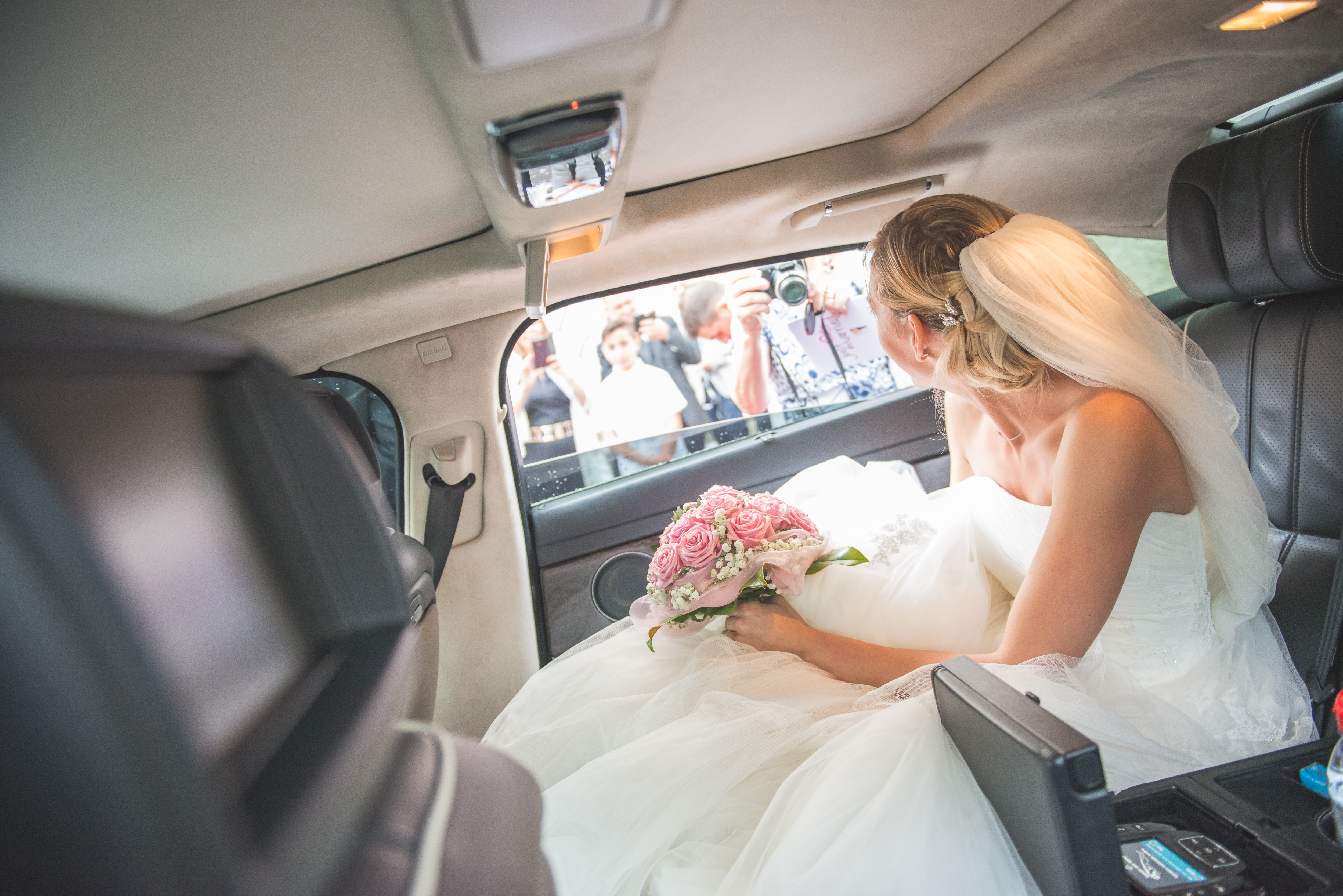 Voiture de Mariage à St Tropez