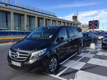 Marseille Transfert Vip Service chauffeur à l'aéroport de Marseille
