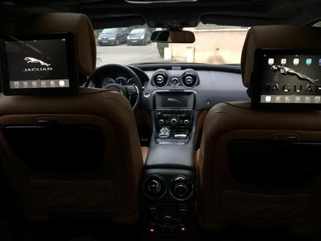 Voiture avec chauffeur Avignon, une Jaguar Xjl Limousine à votre disposition