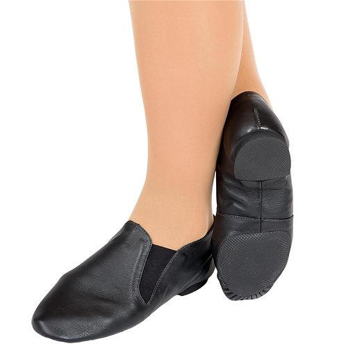 Elastic Sided Jazz Shoe - Adult
