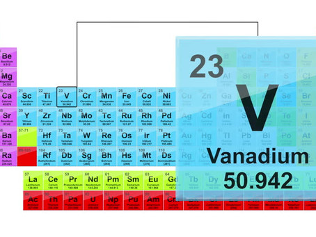 Vanadium Metallicum - a second remedy from the periodic table for  the time of Covid