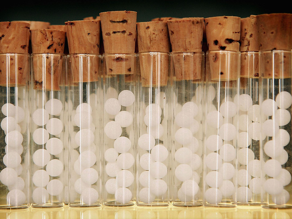Picture of pillule vials (Peter Macdiarmid/Getty Images )