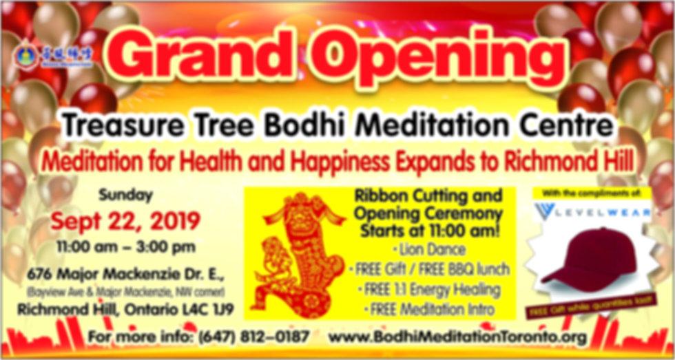 Treasure Tree Bodhi Meditation Centre Richmond Hill, ON