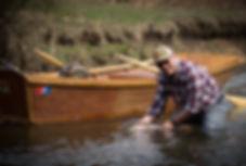 Wood Drift Boat