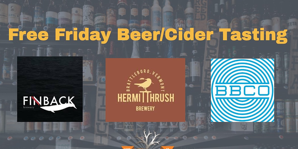 Free Friday Tasting - Beer & Cider