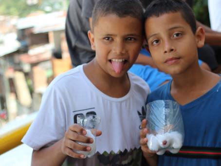 Huertos Comunitarios en alianza con Cerro Bravo