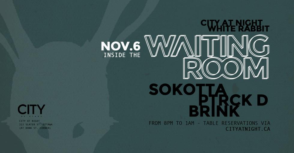 Nov.6 - Sokotta, Ptrck D, Brink