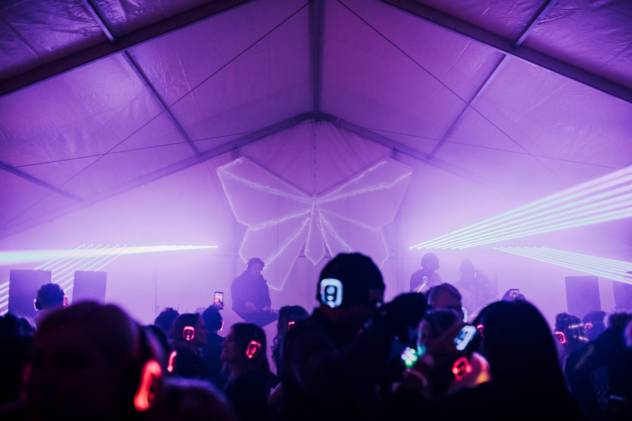 Deep Therapy Fire & Ice Silent Disco