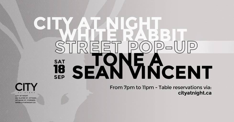 Sep.18 - Tone A, Sean Vincent